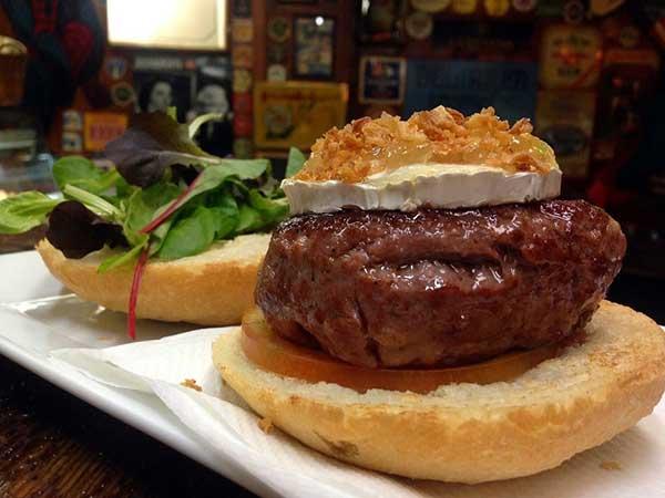 super hamburguesa grande 200 gramos de carne de buey