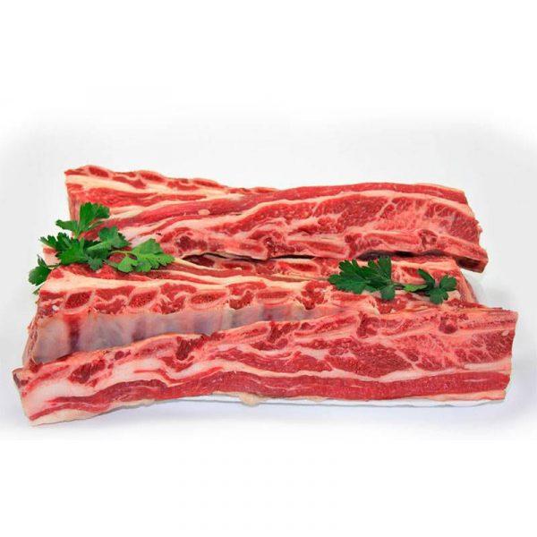 Comprar tira de asado de vaca retinta para hacer churrascos a la brasa.