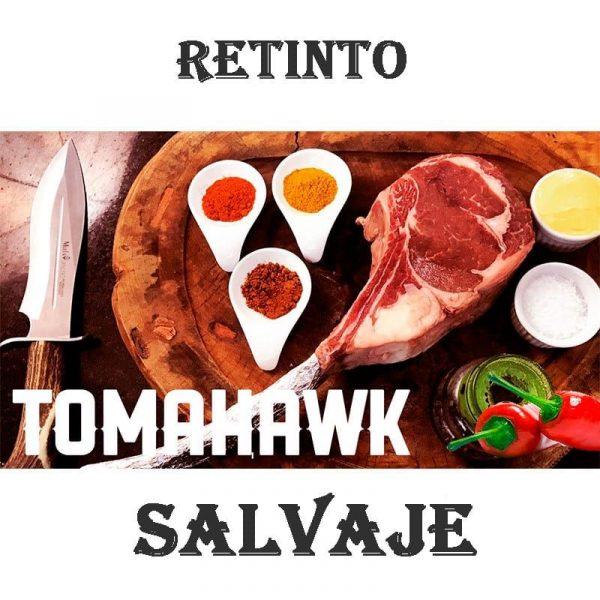 Tomahawk de vaca buey retinta