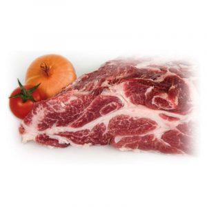 Cabecero de aguja de cerdo ibérico de bellota