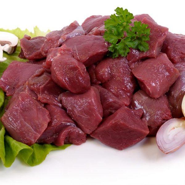 Carne de búfalo en tacos.