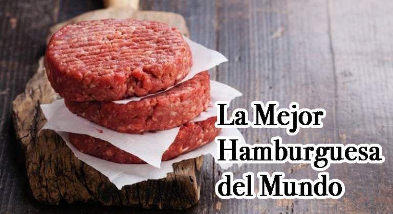 Comprar la mejor hamburguesa del mundo