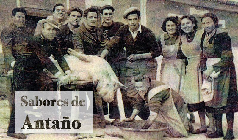 Matanza del cerdo ibérico.