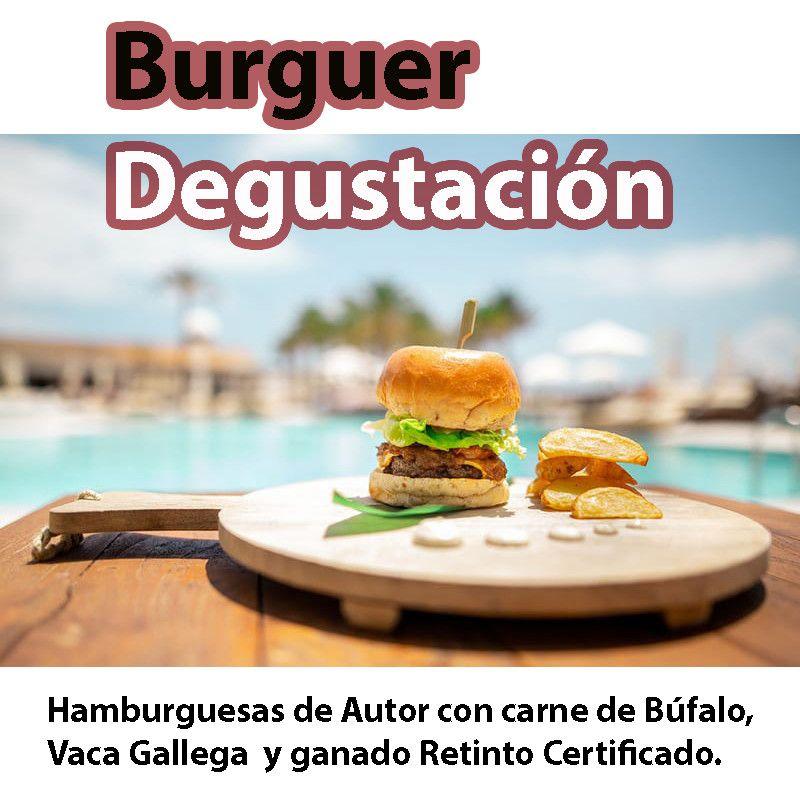 Pack Degustación de hamburguesas.