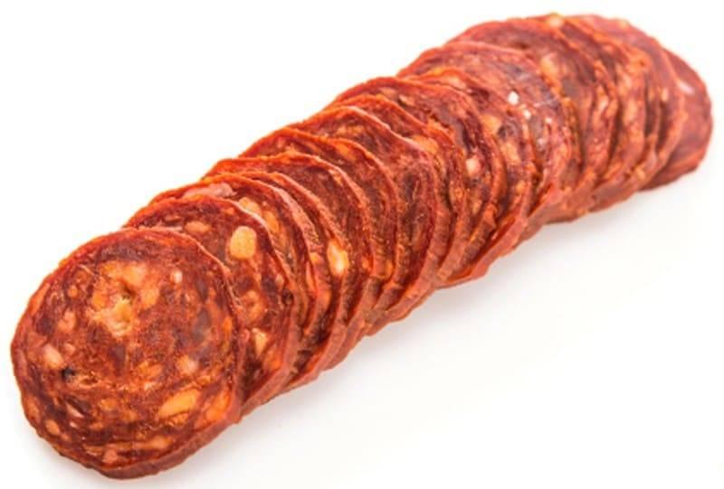 Chacinas. Chorizo ibérico