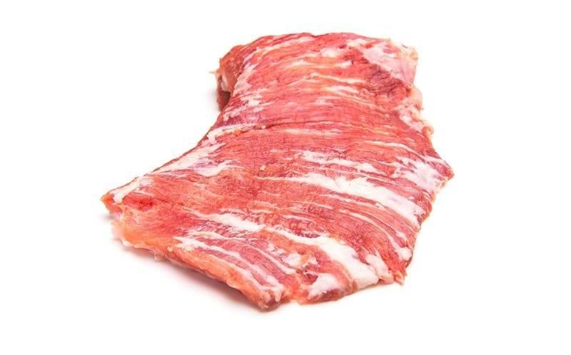 Secreto de cerdo ibérico