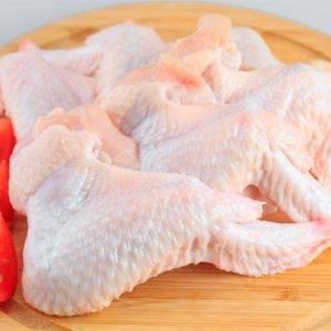 Alas de pollo.