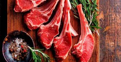 carne de cordero nacional lechal.
