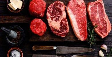 Lotes carnes vacuno parrilla.