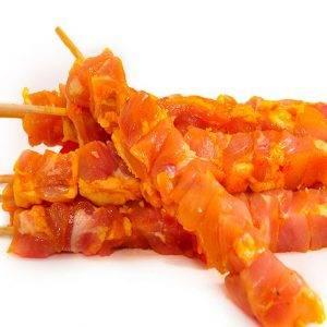 Pinchitos de pollo al estilo de andalucía.