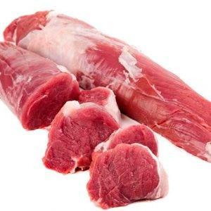 Solomillo de cerdo fresco.