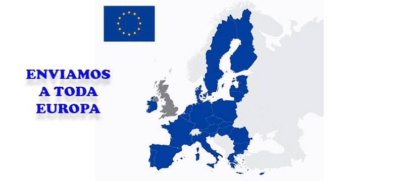 Enviamos y Europa nuestras carnes. a suiza, suecia, francia
