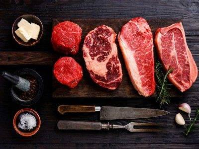 Lote de carne para barbacoa.