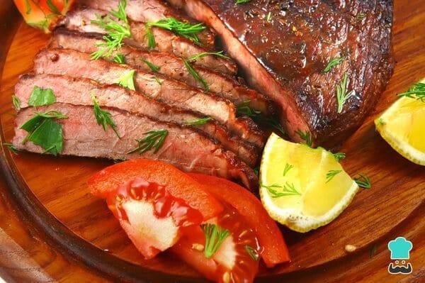 carne horno