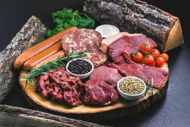 carnes listas para preparar