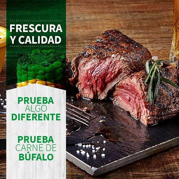 A qué sabe la carne de búfalo