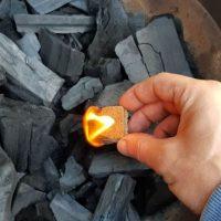 Prendiendo el carbón